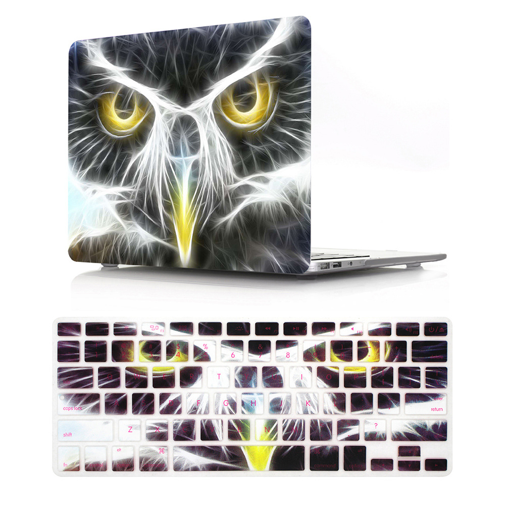New aptop Case For Apple MacBook Air Pro Retina 11 12 13 15 For Mac Book New Pro 13 15 Geometric Print Hard Coverr