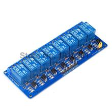 1PCS 8 Channel 12V Relay Module Control Panel 8Channel 12V Low level Trigger for Arduino PLC Free Shipping