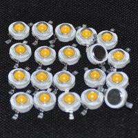 led warm 20pcs High Power LED 1 W Ultra Bright High Power  Warm White LED Beads (4)