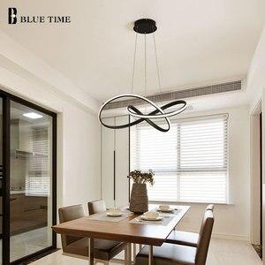 Image 5 - Lumière de pendentif LED moderne pour salle à manger salon chambre salle de café Lusture LED lumière intérieure suspension lampe luminaires