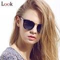 Top Fashion 2017 Óculos De Sol Das Mulheres Designer De Marca Do Vintage de Grandes Dimensões Ao Ar Livre óculos de Sol Occhiali da Sole Oculos Óculos Zonnebril