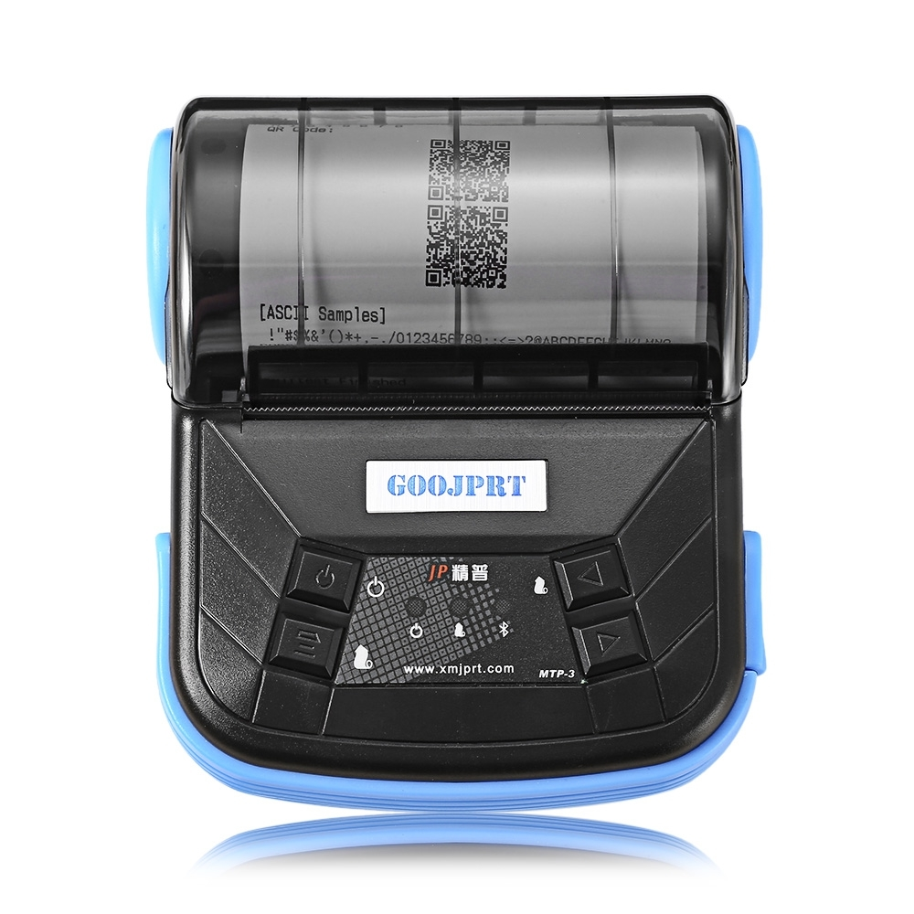GZM8004 3 inch 80mm Bluetooth 4.0 POS Receipt Thermal Printer Bill Machine shop printer for Restaurant Support Android iOS phone portable mini 80mm bluetooth thermal receipt printer pos bill printer 80mm for android pos support multi language eu us uk plug