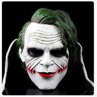 Joker mask batman dark knight trang phục chú hề cosplay movie adult đảng masquerade mặt nạ nhựa cho halloween