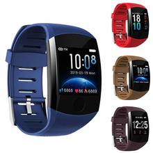 Waterproof TFT Screen Heart Rate Monitor Pedometer Sports Smart Watch Bracelet Screen Heart Rate Monitor