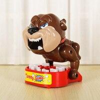 Cão cão feroz Mordida Jogo Dedo Joke Engraçado Da Novidade para jogos de partido Presente Crianças Criança Família Fabricante de Brincadeira Complicado desafio brinquedos