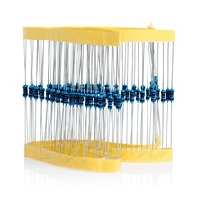 New 100pcs 1/4w Watt 10K ohm 10Kohm Metal Film Resistor 0.25W +-1%