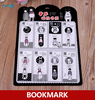 White And Black Cartoon Character Magnetic Bookmark Funny Magnetic Bookmarks For Books Magnetic Clips Page Marker