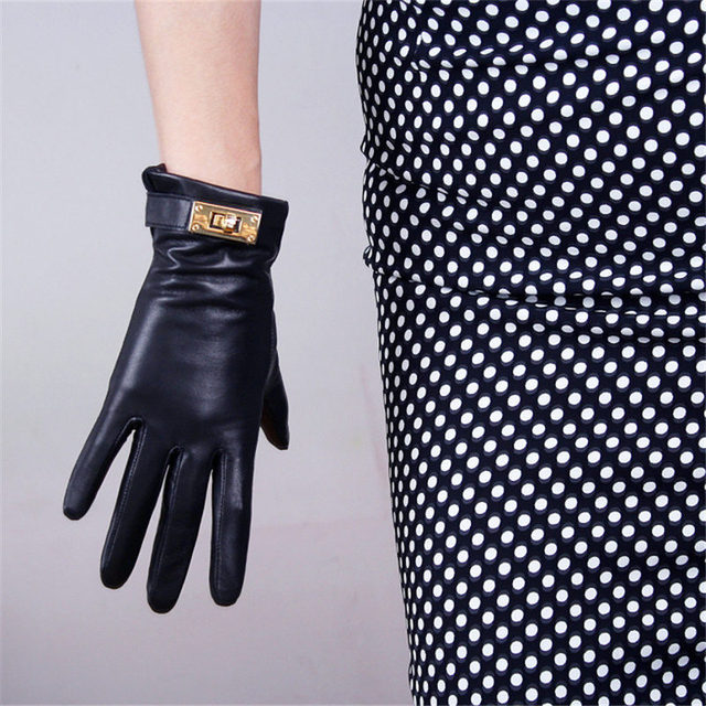 Ladies Touch Screen Leather...