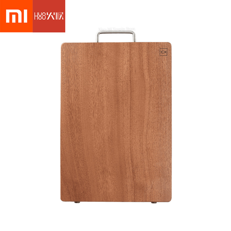 Xiaomi Mijia Huohou Wood Chopping Board Kitchen Thick Cutting Board Vegetable Meat Tools Kitchen Accessories Chopping