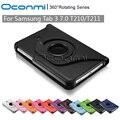 360 Вращающийся PU Кожаный чехол для Samsung Galaxy Tab 3 7.0 с подставкой функция SM-T210 SM-T211 защитный Tablet case cover