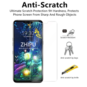 Image 4 - Tempered Glass For LG V50 ThinQ 5G Screen Protector 2.5D 9H Premium Tempered Glass For LG V50 ThinQ 5G Protective Glass Film