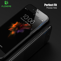 FLOVEME 0.2MM 9H 3D Full Screen Glass Flim for iPhone 7 7 plus Screen Protector Ultra Slim Tempered Glass for iPhone 6 6s plus