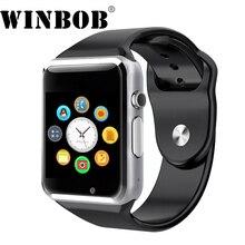 A1 Bluetooth Смарт часы наручные часы для мужчин и женщин спортивные Шагомер с сим Камера Smartwatch для Android-смартфон России T15