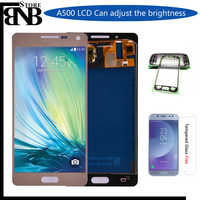 For Samsung Galaxy A5 2015 A500 A500F A500M LCD Display + Touch Screen Digitizer Assembly Can be Adjust Brightness