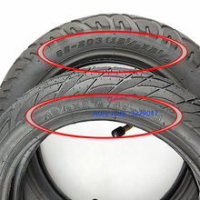 super12 1/2 X 2 1/4 ( 47/57/62-203 )Tire fits Many Gas Electric Scooters 12 Inch tube Tire For ST1201 ST1202 e-Bike 12 1/2X2 1/4(China)