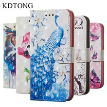 KDTONG Case sFor Samsung Galaxy S8 Plus S7 Flip Leather Magnetic Walte Card Cover For Edge