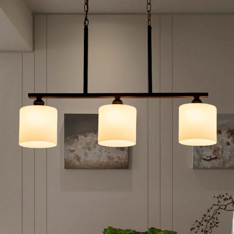 Creatieve Amerikaanse land bar hanglampen landelijke 3 heads ...