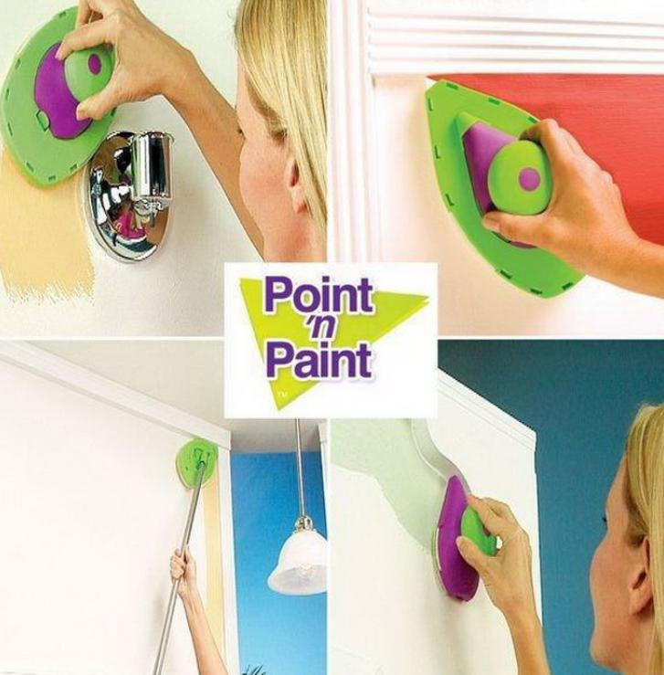 Decorative Paint Roller and Tray Set Painting Brush paint pad pro Point N Household Wall Tool Drop shipping