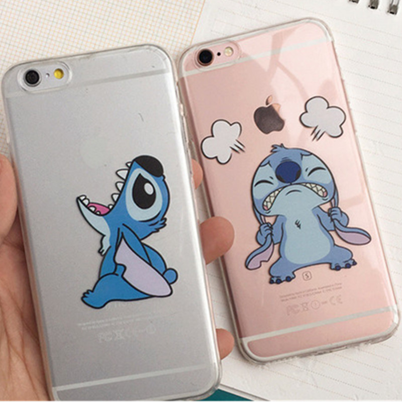 stitch phone case iphone 5s emoji stitch coque funda cover 7987