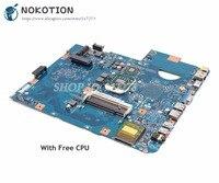 NOKOTION материнская плата для ноутбука Acer 5542G 5542 серии Материнская плата MBPHA01001 48.4FN01. 011 DDR2 Бесплатный процессор