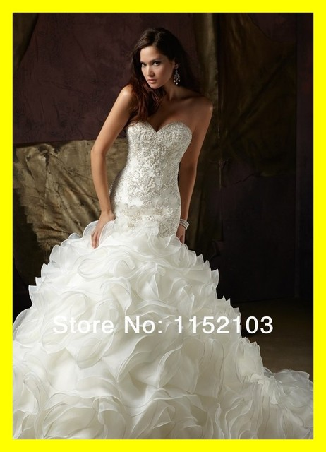 US $365.0 |Satin Wedding Dresses Tea Length