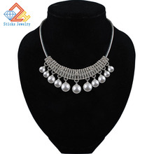 (1piece / lot) 100% Environmentally Friendly Materials Pearl Lady Fashion Necklace