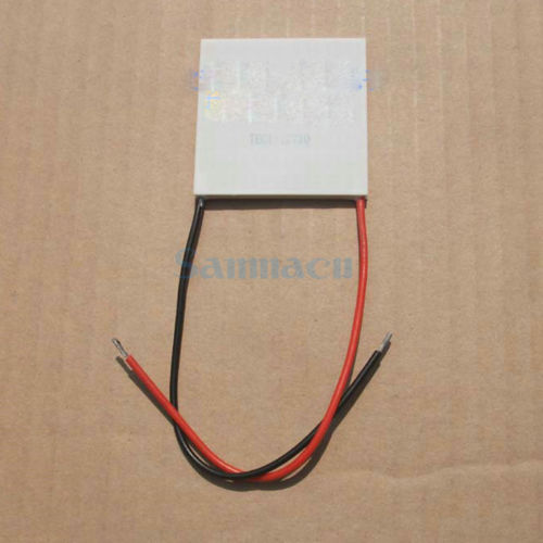 50x50x4.2mm 10A 15V 85W TEC1-12710 Thermoelectric Cooler Peltier Heatsink50x50x4.2mm 10A 15V 85W TEC1-12710 Thermoelectric Cooler Peltier Heatsink