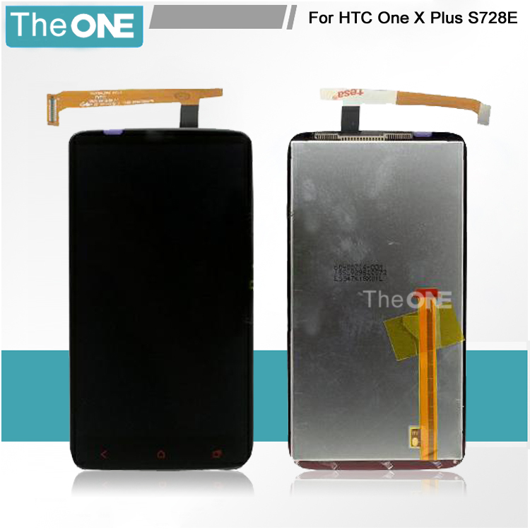 TOP Quality Full LCD Display Touch screen Digitizer Assembly For HTC One X Plus x+ S728e Replacement Free Shipping