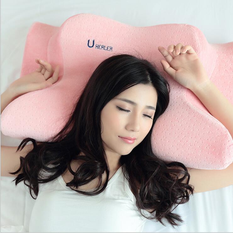 New Design Patented X shape Memory Foam Anti wrinkle Pillow Anti Aging Pillow Anti snoring Pillow