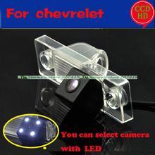 Wired wireless opinión posterior del coche de cámara de reversa con leds para sony ccd chevrolet epica/lova/aveo/captiva/cruze/lacetti/hrv/spark