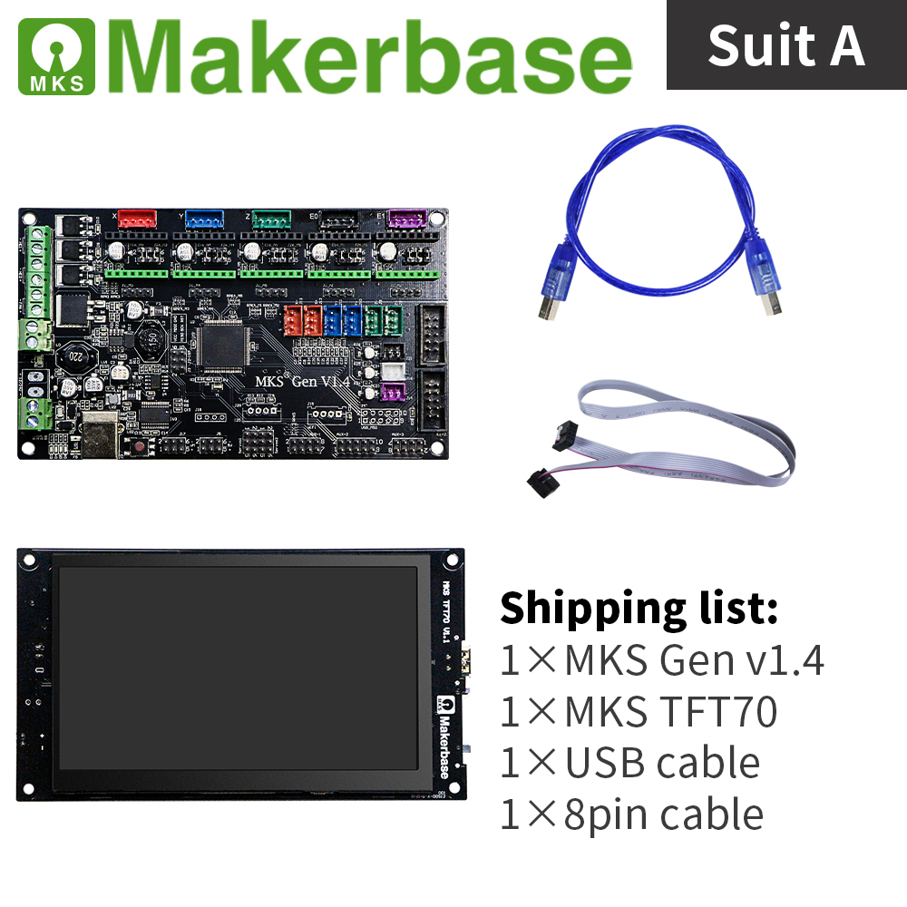 MKS TFT70 Version1 1 Size of screen 7 0