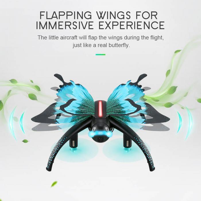 Crianças brinquedo remoto borboleta avião simulação quadcopter