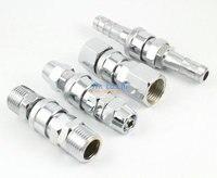 8 Pcs 1/2 Pneumatic Air Compressor Hose Quick Coupler Plug Socket Connector Set