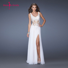 2019 New Luxury sexy prom gown Long Sequined Evening Dresses Beaded Prom Dress Hot sale