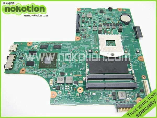 все цены на  NOKOTION CN-0VX53T 0VX53T VX53T Main Board For Dell inspiron N5010 Laptop Motherboard 48.4HH01.011 HM57 HD 5470 DDR3  онлайн