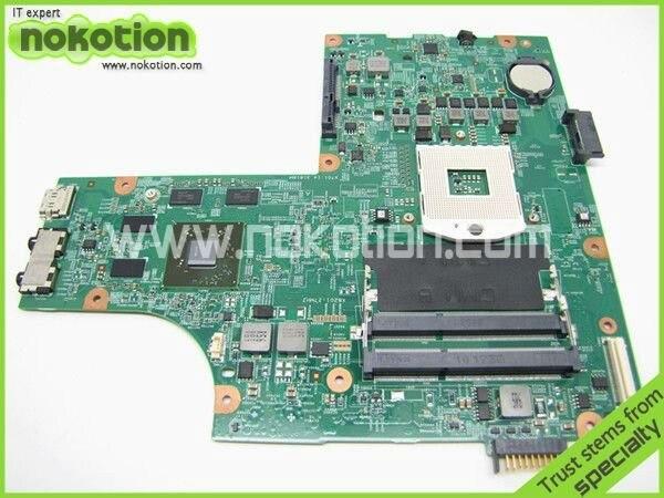 NOKOTION CN-0VX53T 0VX53T VX53T Main Board For board inspiron N5010 Laptop Motherboard 48.4HH01.011 HM57 HD 5470 DDR3 645386 001 laptop motherboard for hp dv7 6000 notebook pc system board main board ddr3 socket fs1 with gpu