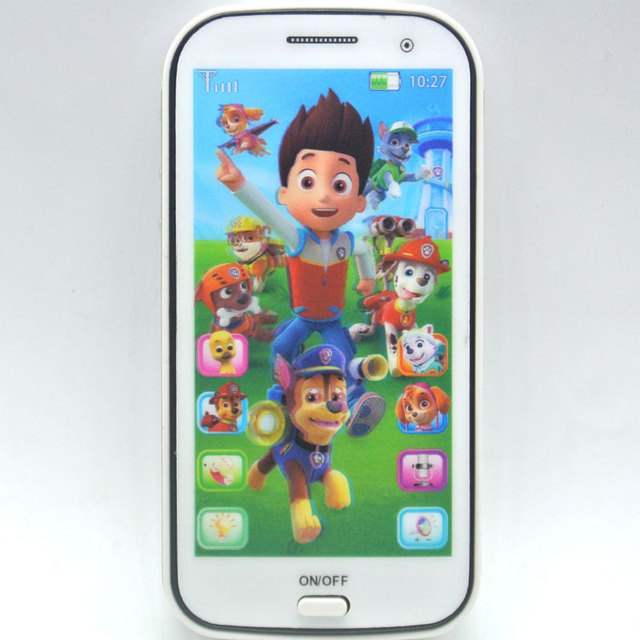 4d Baby Toy Phone Kids Mobile Toy Touch Screen Learn English With