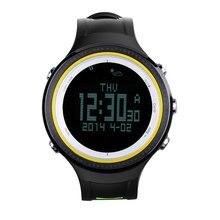 Sunroad Smartwatch Wasserdichte Outdoor Sport Smart uhr Männer Digitale Backlit Schrittzähler Höhenmesser Barometer Thermometer Kompass