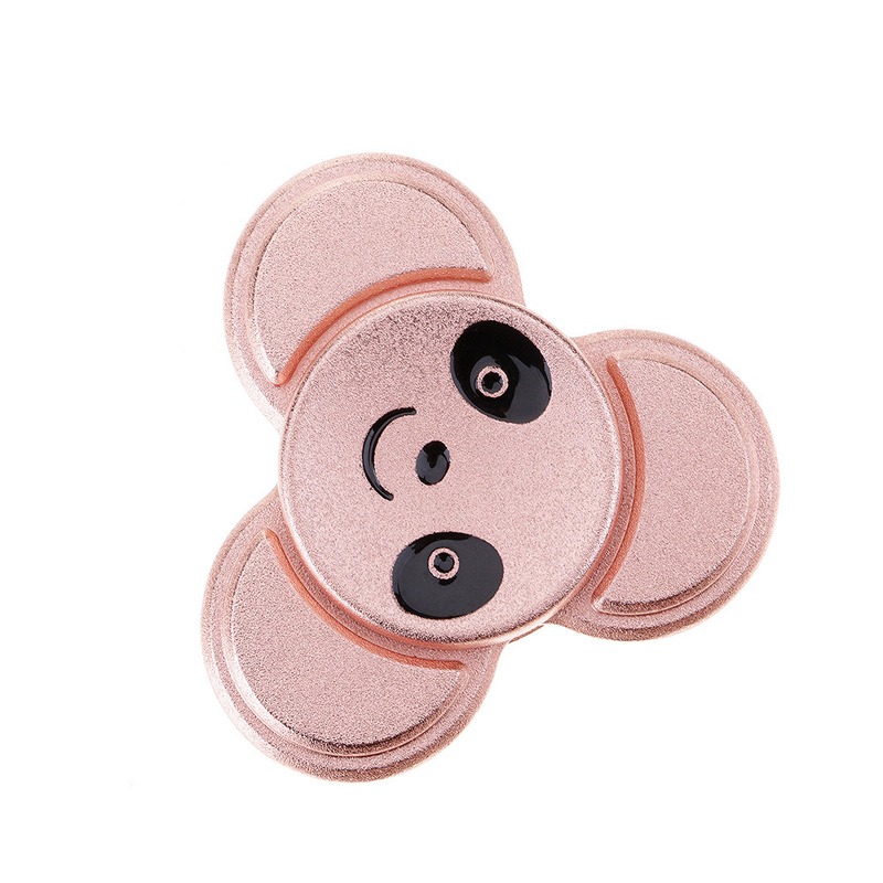Fashion Cute Animal Face Spinner Hand EDC Toys For Children Adults 2017 New Spinner Finger Toy Gift For Autism And ADHD