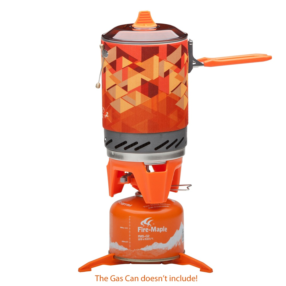 Fire Maple Personal Cooking System Outdoor Hiking Camping Oven Portable Best Propane Gas Stove Burner Fire-maple FMS-X2 apg 1100ml camping gas stove fires cooking system and portable gas burners