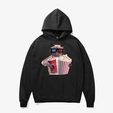 Mr.1991INC & Miss gitmek marka Erkek 3D artı kadife iç Baskılı Komik Hip HOP Hoodies Streetwear Kapşonlu Moda stil