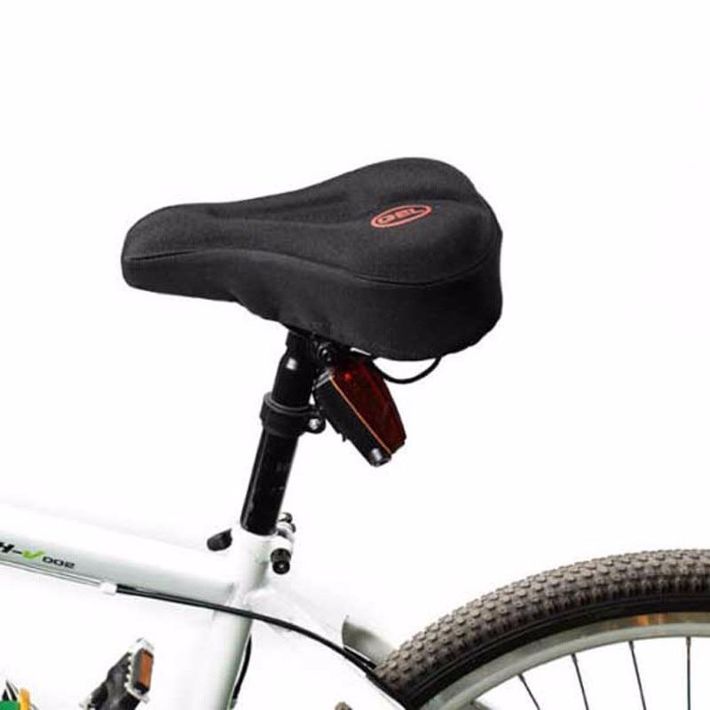Universāls 3D želejas paliktnis Mīksts biezs velosipēdu velosipēdu segas segums Riteņbraukšanas velosipēdu sēdekļa spilvens Velosipēdu braukšana Sēdekļu sēdeklis