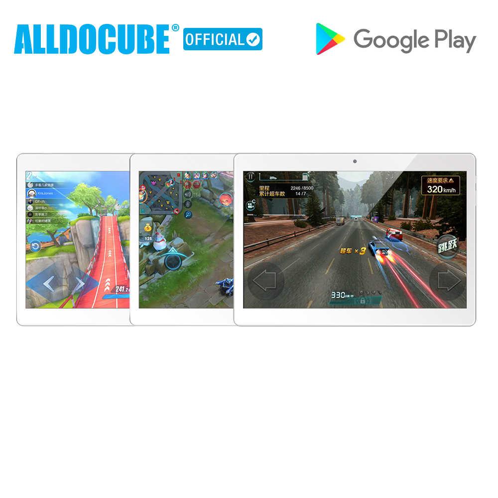 ALLDOCUBE M5X 10,1 pulgadas 4G teléfono llame a la tableta PC MTK X27 2560*1600 IPS Android 8,0 Deca core 4GB RAM 64GB ROM 5MP GPS WIFI Dual