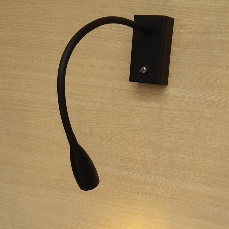Topoch Սև LED անկողնային պատի թեթև - Ներքին լուսավորություն - Լուսանկար 4