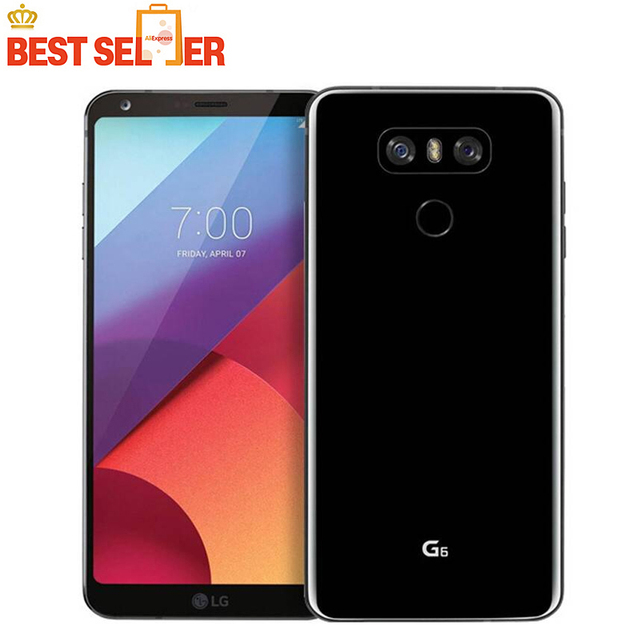 US $155 99 25% OFF|Original Unlocked LG G6 4G LTE Mobile Phone, H873 VS988  H870, 4GB RAM 32GB/64GB ROM 13MP 5 7'' Snapdragon 821 Android Smartphone-in