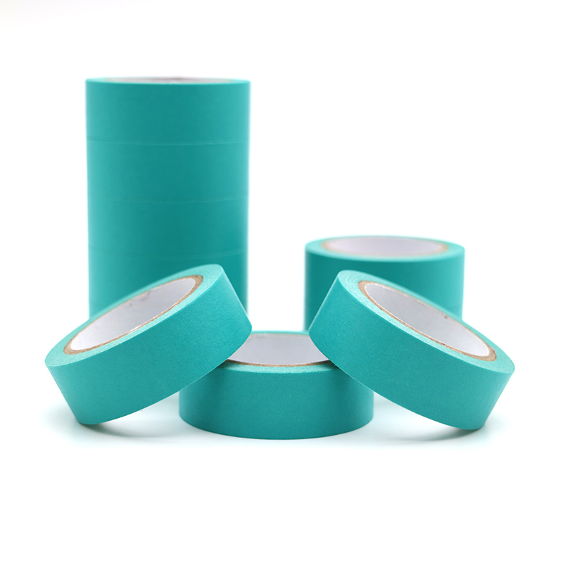 10m*15mm Refreshing Kawaii Candy Lake Blue Color Washi Tape Masking Tape Decorative Scrapbooking DIY Office Adhesive Tape 1 PCS