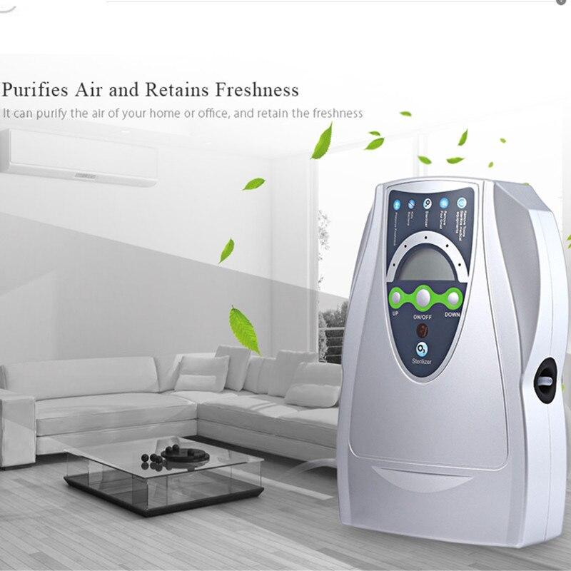 Генератор озона очиститель воздуха бытовой Портативный Озоновый Дезинфектор для фруктов овощей воды стерилизации с ЕС/США Plug