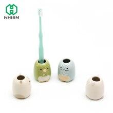 WHISM niños cepillo de dientes titular de cepillos de dientes Rack de almacenamiento  organizador de baño b89cc8fe17cc