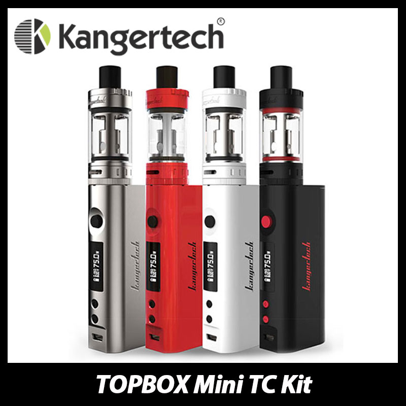 все цены на  Original Kangertech TOPBOX Mini TC Starter Kit with TOPTANK Mini Atomizer & 75W Kbox Mini TC MOD Support Ni/Ti/SS/NiCr Coils  онлайн