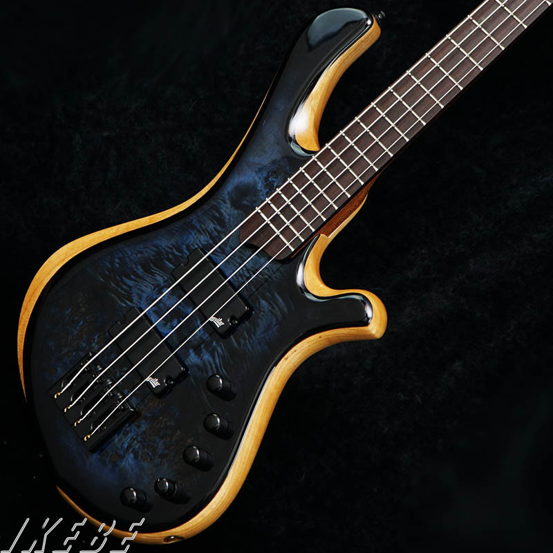 mayones be elite 4 bass guitar eye poplar top electric custom bass guitar 4 string in guitar. Black Bedroom Furniture Sets. Home Design Ideas